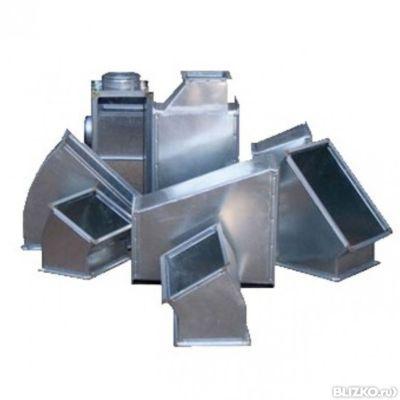 Коробка из оцинкованной стали