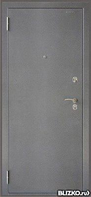 дверь металлическая однопольная 1000 2100