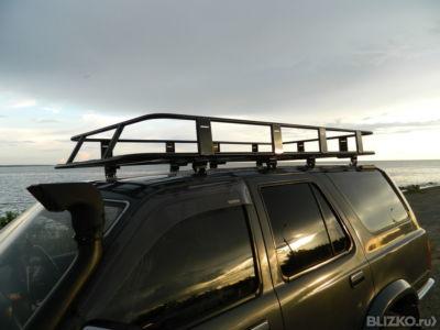 Как сделать багажник на сурф