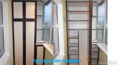 Установка шкафа на балкон в городе омск - на портале blizko.