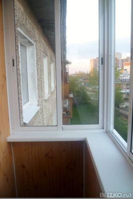Отделка балкона иркутск профнастил остекление балкона